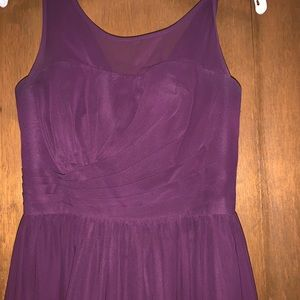 Special ordered Grape Colored Prom Dress